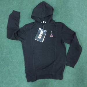 Moncler Back Pattern Black Sweatshirt Hoodie Large